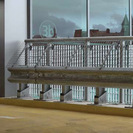 Flexi-Post with Barrier Rail, Handrail and Mesh