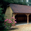 3 Bay Oak Garage