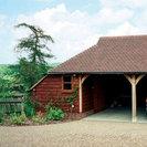 Timber 2 Bay Garage