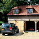 Timber 3 Bay Garage