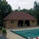 Timber Pool House