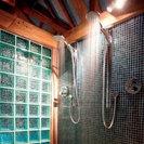 Timber Shower Enclosure