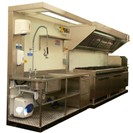 Kit Kitchen - sink and cooker unit