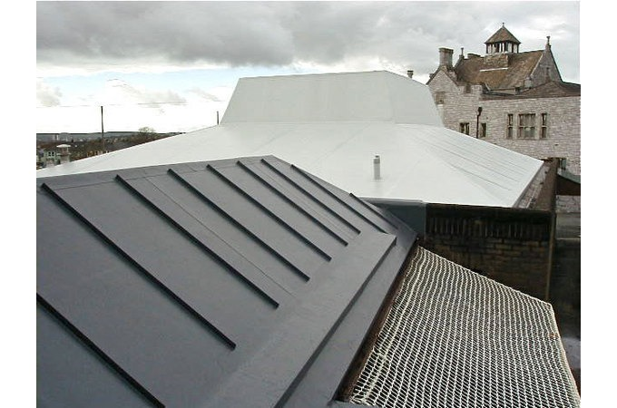 Single Ply Membrane : Dfr roofing ltd atrium roofs and waterproofing