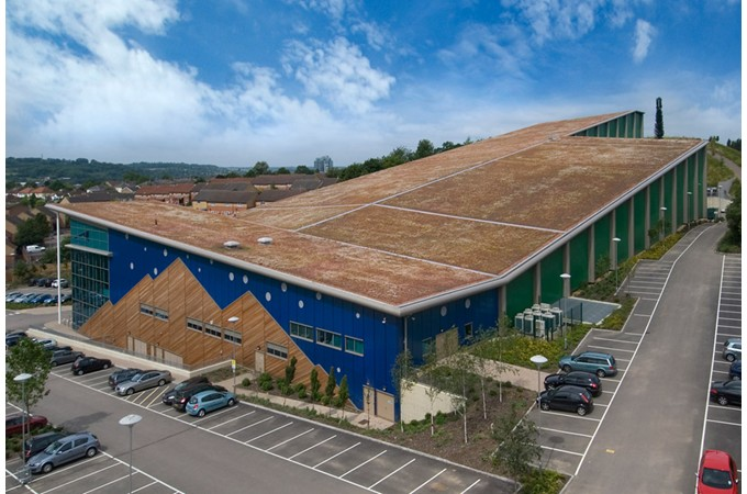 Blackdown Greenroofs Green Roofs And Intensive Green Roof