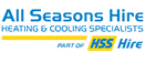 Logo of All Seasons Hire