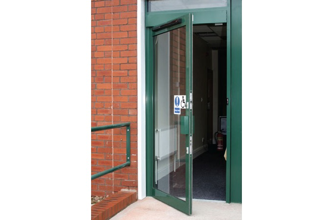 Axis automatic entrance systems curtain walling and