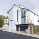 A Striking Home in a Suburban Setting