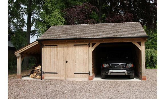 Cheshire Oak Structures Ltd: Green Oak Carports