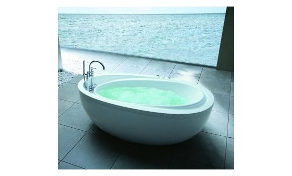 Bathroom accessories and baths for Low profile bath tubs