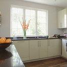 High Gloss Pebble Grey Kitchen