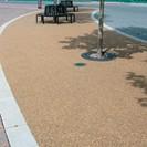 Resin bonded footpath
