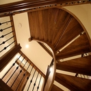 free standing staircase