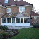 Victorian Conservatory with adjoining lean-to