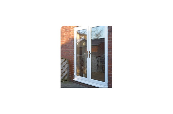 ... French doors in white profile ...  sc 1 st  The Construction Centre & Safestyle UK: Windows Upvc Windows And Standard Windows