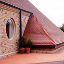 Clay Tiles Red Smooth