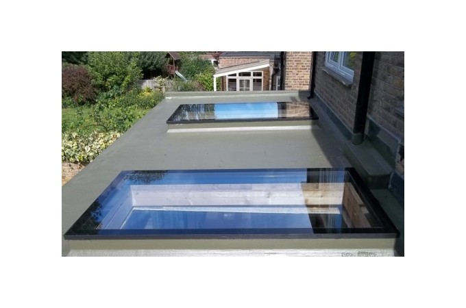 Flat Rooflight; Flat Rooflight; Flat Skylights On Extension ...