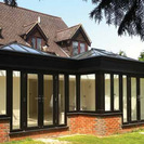 Black Aluminium Roof Lantern