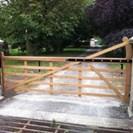 5 BarTimber Gate
