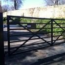 Metal Security Gate