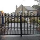 WroughtIron Gate