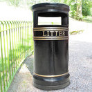 Covent Garden Cast Iron Litter Bin