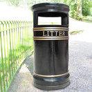 Covent Garden Cast Iron Litter Bin