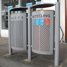 Linx Recycling Litter Bin