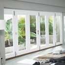 Wellington Softwood White Folding Sliding Door