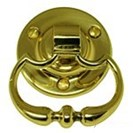 Polished Brass Ring Handle