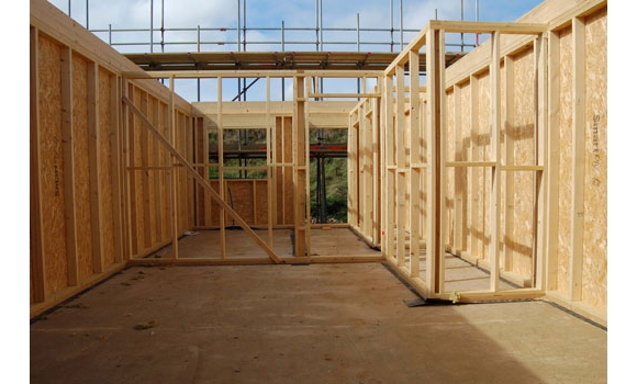 Merronbrook ltd kerto beams and roof trusses for Timber frame floor