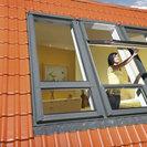 Duet high pivot window