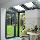 Mono-pitched rooflight