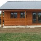 Log Cabin with Eco Brite