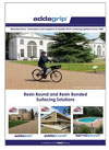 Two new brochures from Addagrip Terraco