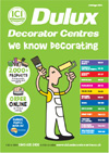 Updated Dulux Decorator Centres catalogue