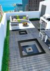 FAKRO roof terrace window