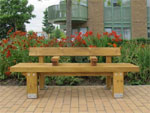 Stark range of robust softwood seating and tables from Furnitubes