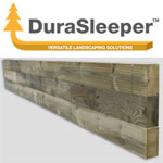 DuraSleeper landscaping sleepers from M & M Timber